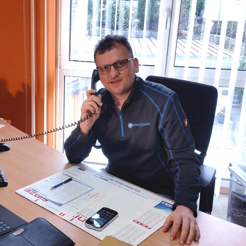 Geschäftsführer energypoint Matthias Windsauer